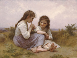 A Childhood Idyll 1900 Prints by William Adolphe Bouguereau