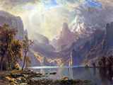 Lake Tahoe Posters by Albert Bierstadt