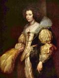 Portrait of Marie-Louise De Tassis Poster von Anthony Van Dyck