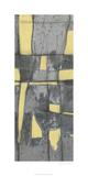 Lemon on Grey II Premium Giclee Print by Jennifer Goldberger