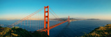 Golden Gate Bridge Panorama in San Francisco as the Famous Landmark. Photo by Songquan Deng