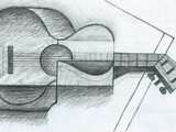 The Guitar Prints by Juan Gris