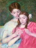 Woman and Girl Posters by Mary Cassatt
