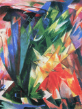Fowl Prints by Franz Marc
