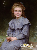 Daisies Prints by William Adolphe Bouguereau