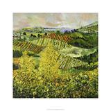 Arbres jaunes Edition limitée par Allan Friedlander