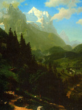 Matterhorn Art by Albert Bierstadt