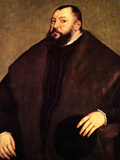 Sovereign Johann of Sachsen Posters by  Titian