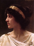 Irene Poster by William Adolphe Bouguereau