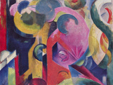 Composition III Prints by Franz Marc