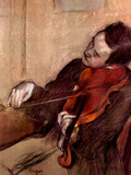 The Violinist 1 Poster by Edgar Degas