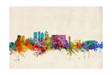 Cape Town South Africa Skyline Photographic Print by Michael Tompsett