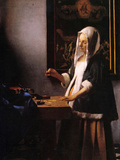 Weights Prints by Jan Vermeer