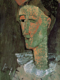 Pierrot Art by Amedeo Modigliani