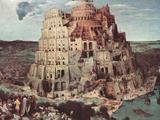 Tower of Babel Poster by Pieter Bruegel the Elder