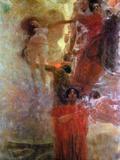 Medicine Posters by Gustav Klimt