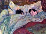 Durmiendo Póster por Henri de Toulouse-Lautrec