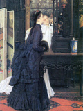 Young Women with Japanese Goods Art by James Tissot