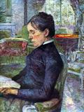 Portrait of the Countess Pósters por Henri de Toulouse-Lautrec