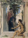 Roman Charity Unknown Print by William Adolphe Bouguereau