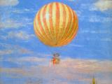 The Baloon Poster von Paul von Szinyei-Merse