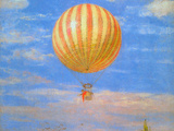 The Baloon Print by Paul von Szinyei-Merse
