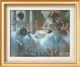 Dancers at Rest Art by Edgar Degas