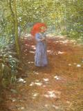 Walking in the Park Art by Antonin Slavicek