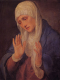 Madonna Dolorosa Poster by  Titian