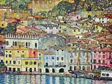 Gustav Klimt - Malcena at the Gardasee Obrazy