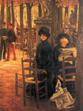 Without Aussteuer Posters by James Tissot
