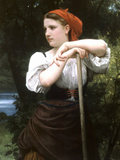 The Haymaker Posters by William Adolphe Bouguereau