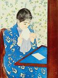 The Letter Art by Mary Cassatt