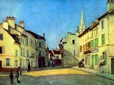 Place at Argenteuil Print by Alfred Sisley
