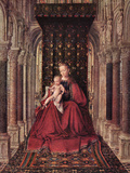 The Virgin and Child Poster by Jan Van Eyck