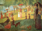 Sunday Afternoon Posters by Georges Seurat
