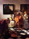 Jan Vermeer - Musical Trio - Poster