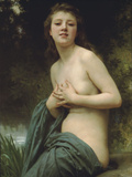 Spring Breeze Prints by William Adolphe Bouguereau