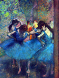 Dancers 5 Posters by Edgar Degas