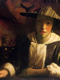 Girl with a Flute Posters by Jan Vermeer