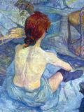 Rousse the Toilet Pósters por Henri de Toulouse-Lautrec