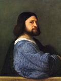 Portrait of a Man Prints by  Titian