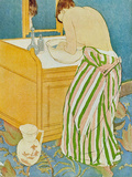 The Toillette Print by Mary Cassatt
