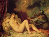Danae Prints by  Titian
