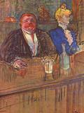 El bar Pósters por Henri de Toulouse-Lautrec