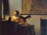 According to the Player Prints by Jan Vermeer