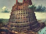 Pieter Bruegel the Elder - Tower of Babel Plakát