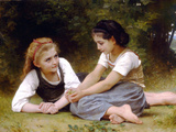 The Nut Gatherers Posters by William Adolphe Bouguereau