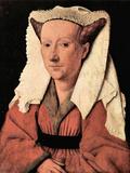 Portrait of Margaretha Van Eyck Posters by Jan Van Eyck