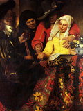 The Procuress Prints by Jan Vermeer